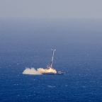 CRS-8 | First Stage Landing on Droneship