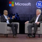 GE and Microsoft CEOs on new partnership