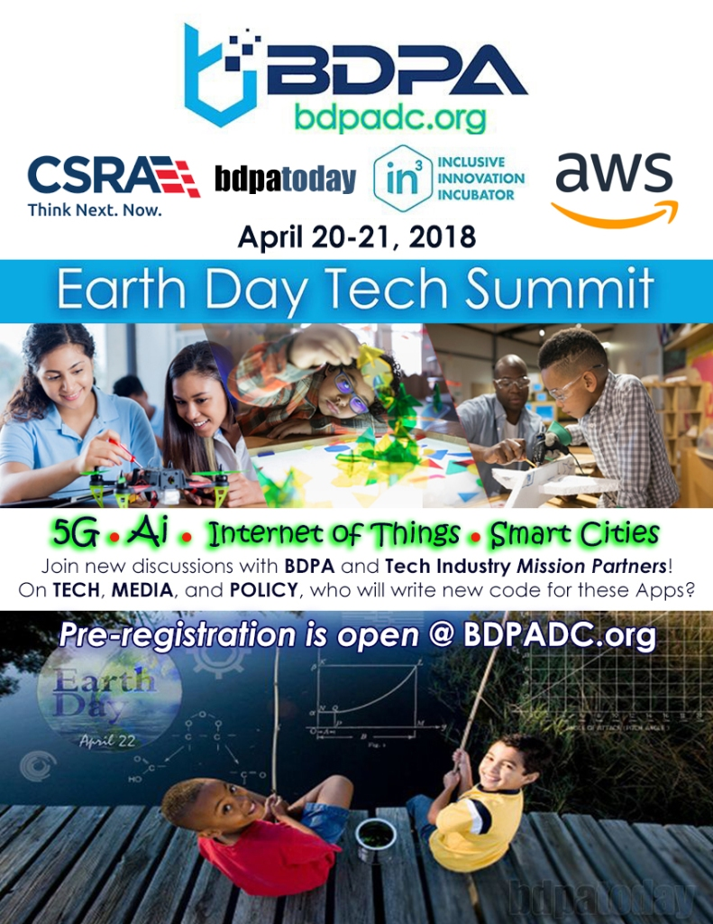 Earth Day Tech Summit 2018