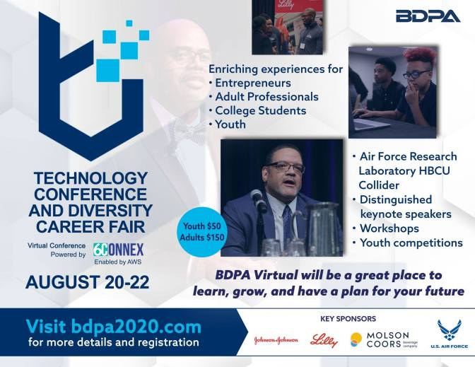 Register today for Virtual BDPA2020! Select here...