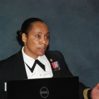 Captain Lucinda Cunningham, U.S. Coast Guard, Retires